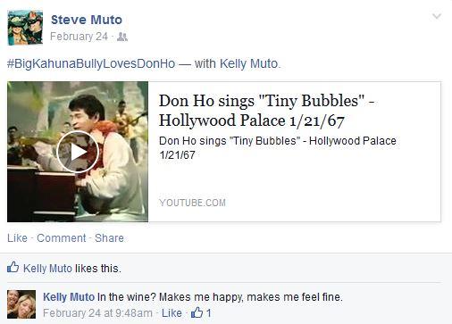 Steve Muto Bully Rubbing It In More