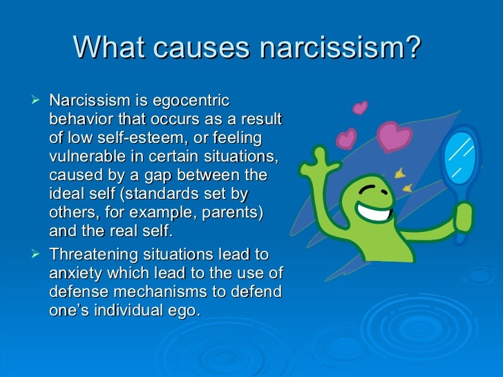 Steve Muto Bully - What Causes Narcissism