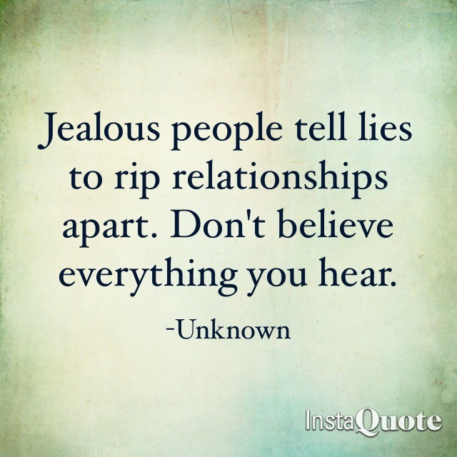 Steve Muto Bully - Jealous people telllies to rip relationships apart