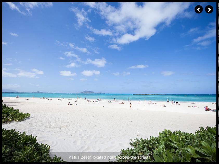 Kailua Beach Right Across the Street and a Beach Park